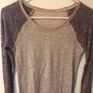 Free People baseball top s/p